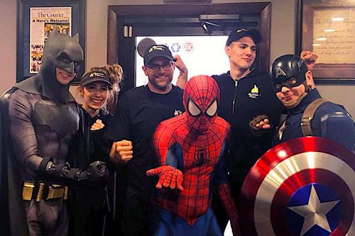 pizza superheroes
